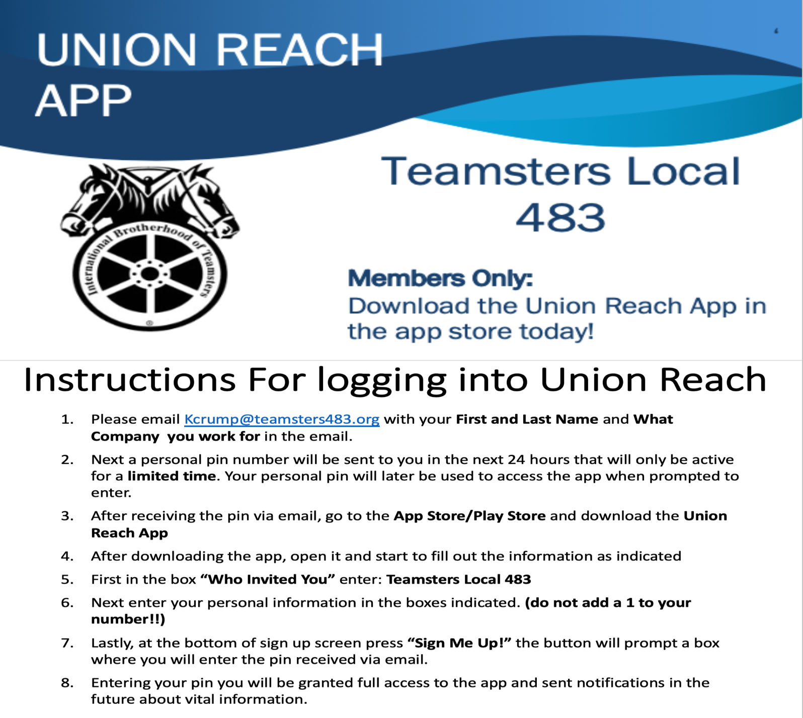 Teamsters Local 483